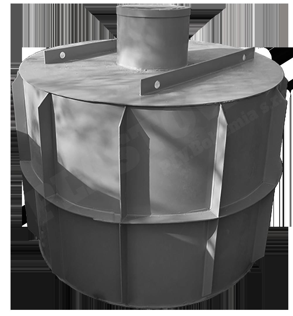 Samonosný kruhový septik