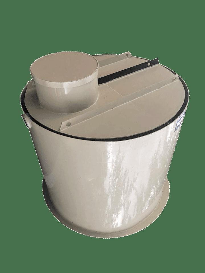 Dvouplášťové kruhové septiky